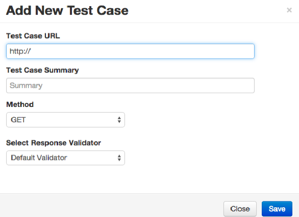 add new test case in vREST