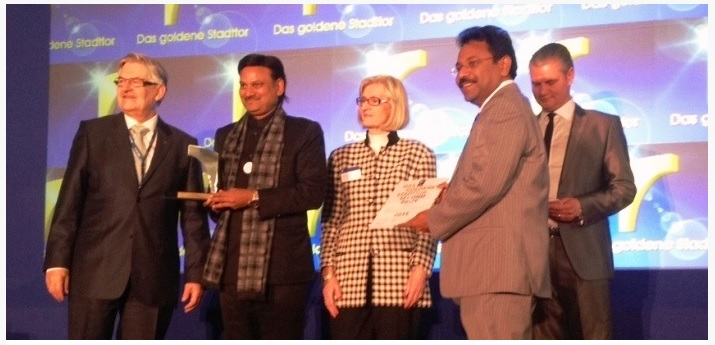 ITB-Berlin-Golden-Gate-Award-Kerala-Tourism-bonny-chacko-Nibodha-Preferred-Vacation-Rental-Technology-Partner
