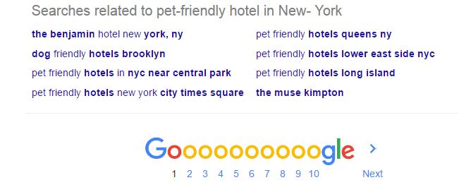pet friendly hotel example 2